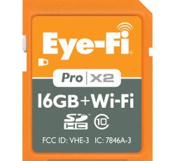 ワイヤレスSDHCカード Eyefi設定方法