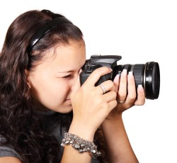 一眼レフ交換レンズの動作確認方法。